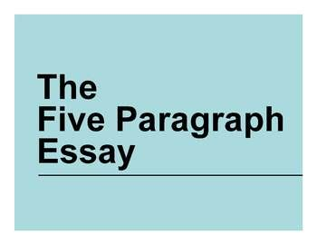 Writing a Thesis Statement New Ideas for Teaching
