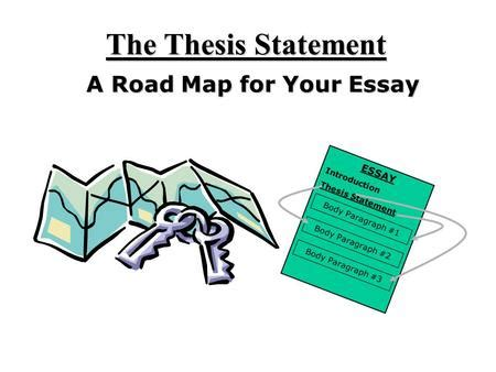 Thesis statements powerpoint